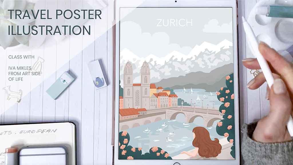 c2020-IvaMikles-TravelPosterClass